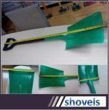 PP vert Matériau Matière plastique Non-Spark pelle carrée