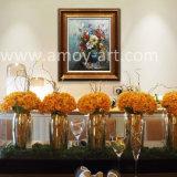 Flor de aceite pesado Pinturas al Óleo sobre lienzo de alta calidad