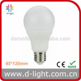 A65 E27 B22 Standard 세륨 RoHS Plastic Aluminum 270 Degree Epistar SMD2835 IC 12W LED Bulb