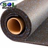 Огнестойкость коммерческих Crossfit резинового валика спортзал пол коврик
