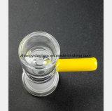 Pipe en verre transparente de la cuvette femelle 14.5mm, embouts de durites de 18.8mm