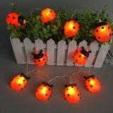 Neues LED-Zeichenkette-Licht mit Schneemann-Deckel, Weihnachtslicht