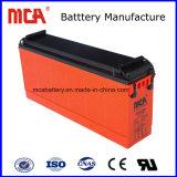 Batteria anteriore di telecomunicazione solare del terminale 12V 100ah di buona qualità