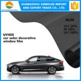 pellicola tinta macchiata solare della finestra dell'automobile UV superiore del blocchetto di 3m con protezione di pelle