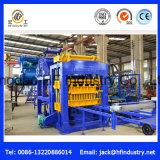 Tijolo/bloco automáticos do bloqueio do Paver da cor Qt12-15 que faz a máquina