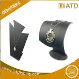 Vertoning van de Halsband van de Juwelen van de Juwelen van de douane de Zwarte Acryl