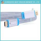 영사기 LCD를 위한 이더네트를 가진 Vention 2160p HDMI 2.0 케이블 4K 3D