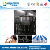 Petite machine de remplissage de l'eau minérale de bouteilles