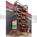 2018 Sistema de estacionamiento rotativo Vertical/8 coches aparcamiento giratorio/sistema de solución de estacionamiento de equipos
