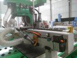 Buen ranurador neumático del CNC de 4 pistas de la estabilidad 3D