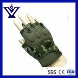 Camouflage Half-Finger Luva tácticas de Polícia (SYPG-888)