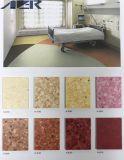 PURの処置のビニールの抗菌性の病院PVCフロアーリング
