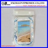 Sacchetto trasparente della spiaggia del PVC di tocco impermeabile dello schermo per iPad (EP-C9058)
