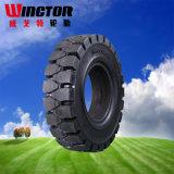 Resilient Solid Tire 5.00-8 Neumáticos de montacargas con alto rendimiento