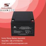 12V 26Ah gel VRLA de Type de batterie de sauvegarde de l'alimentation batterie de stockage