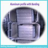 De Uitdrijving van het Profiel van het aluminium/van het Aluminium met het Buigen van het Anodiseren voor het Geval van het Karretje