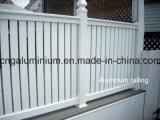 Алюминиевые лестницы, стеклянное Handrial и стеклянный Baluster, Railing лестницы