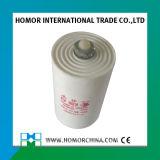 Weißer Kondensator des Plastikfall-Cbb60 45UF 250V