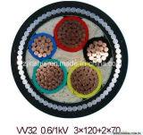 Precio del cable de transmisión de XLPE 11kv con estándar del IEC BS Icea JIS