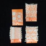 最新のパターンが付いている綿のレースファブリック