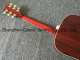 Голубь акустическая гитара вишня солнечной вспышкой с подборщиками 301 Fishman (ГД-1)
