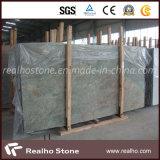 Laje de granito verde chinês Seawave Green para bancadas de cozinha