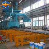 Stahlplatten-Stahlblech-Stahlträger-Reinigungs-Schuss-Böe-Maschine