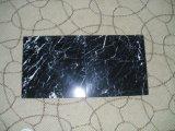 Nero Marquinaの大理石のタイルの黒い大理石のタイル