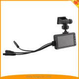 gravação de ciclagem do registrador HD720p da motocicleta 3.0inch
