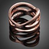 De nieuwe Populaire Ingevoerde Onregelmatige Creatieve Ring van de Diamant Zircon