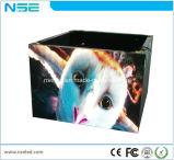 Tela LED interior populares Cube Cyclinder de módulo para colunas