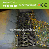 Plastikhaustierflaschenreißwolf/Haustiermineralflaschenreißwolfmaschine