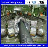 PA/PE/PP/PVC gewölbte Plastikrohr-Strangpresßling-Zeile