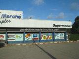 Entrepôt standard d'armature en acier, centre commercial, supermarché