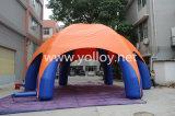 Tente gonflable Spide Dome pour événement promotionnel