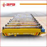 De Gemotoriseerde Aanhangwagen Tranefer van de zware Lading voor Staalfabriek op Sporen