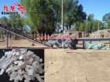 木製のログおよび木板のためのドラム砕木機