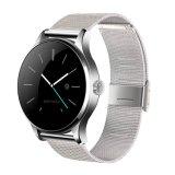 """Haute qualité 1,22"""" IPS écran Moniteur de fréquence cardiaque étanche ronde Smart Watch"""