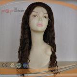 Virgen de Onda Completa suelto el Cabello Remy encaje peluca (PPG-L-01336)