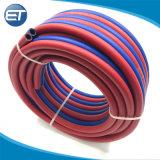 Goma de PVC industrial soldadura de doble tubo de la manguera del tubo de oxígeno acetileno