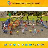 Самая новая спортивная площадка Outdoor разминки Kids с Climbing Wall (A-15059)