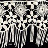 Baumwollguipurespitze-Spitze-Ordnung, afrikanische Netzkabel-Spitze-Ordnung, Baumwollspitze-Ordnungs-Großverkauf L155