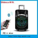 """다채로운 LED 가벼운 휴대용 무선 Bluetooth 12 """" 스피커"""