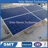 태양 강철 물자 지상 마운트 설치 시스템 벽돌쌓기