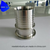 Sanitary Bevel Seat Hose Stem with to Tube