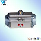 압축 공기를 넣은 액추에이터, 봄 반환, 두 배 임시 압축 공기를 넣은 벨브 액추에이터