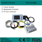 5.1 Zoll-Screen-multi Handparameter-Patienten-Überwachungsgerät mit Bluetooth Funktion PC Synchronisierungs-Software Rpm-8000b-Javier