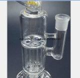 Station de réutilisation saine en verre de narguilé en verre de 9.4 pouces