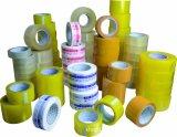 Claro y cintas adhesivas de la cinta/del lacre del embalaje de Brown BOPP