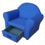 Ткань один диван/детей мебели/Детский стул с выдвижной ящик (SF-49)